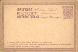 FINLANDE - Entier Postal Ancien Non Voyagé - A Voir - L 5953 - Finlande