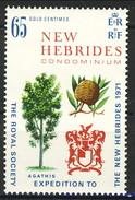 New Hebrides 1971 Serie N. 313 MNH Cat. € 1.80 - English Legend