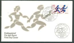 17 (zch24) Allemagne Berlin 1979 Athletisme Arc Archery Course Relais  FDC