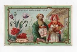 Chromo - Chocolat Guérin Boutron - Pavot - Russie - Guérin-Boutron