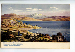C 19135  -  Tiberias With The Lake Of Gennesaret  -  Tibére Et Le Lac De Genezareth -  Perlberg Pinx.  -  Palestine - Palestine