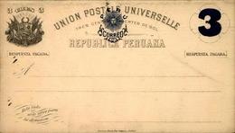 PEROU - Entier Postal +réponse Non Voyagé - A Voir - L 5960 - Pérou