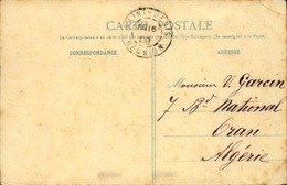 FRANCE / RÉUNION - Oblitération De Saint Denis Sur Carte Postale En 1909 Pour L 'Algérie - A Voir - L 5963 - Réunion (1852-1975)