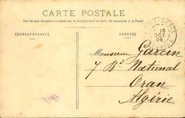 FRANCE / RÉUNION - Oblitération De Saint Denis Sur Carte Postale En 1908 Pour L 'Algérie - A Voir - L 5964 - Réunion (1852-1975)
