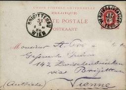 BELGIQUE - Entier Postal De Verviers Pour L 'Autriche En 1886 - A Voir - L 5968 - Stamped Stationery
