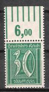 Reich Variété Du N° 142 Neuf ** Michel 162 W OR - Deutschland