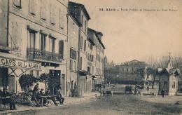 G19 - 30 - ALAIS - Gard - Poids Public Et Descente Du Pont Vieux - Alès