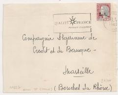 EA Sur DECARIS. ORAN ST CHARLES Oran Algérie. RF Non Barré. DEVANT D'enveloppe Du 27/7/1962. - Algérie (1962-...)