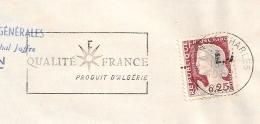 EA Décalé Sur DECARIS. ORAN ST CHARLES Oran Algérie. RF Non Barré. Enveloppe Du 16/7/1962. - Algérie (1962-...)