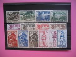 Guinée Française Année    1939 - 1941     N°   158 à 171      Neuf *   14  Val - Neufs