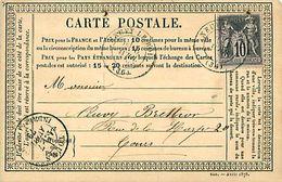 Cpa Précurseur NEUVY LE ROI 37 à Tours, 1879 - Neuvy-le-Roi