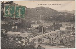 SAINT JEAN DU GARD (30) - VUE GENERALE ET L'USINE - Saint-Jean-du-Gard