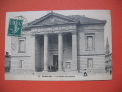 CPA  Bergerac  Le Palais De Justice   Voyagé - Bergerac
