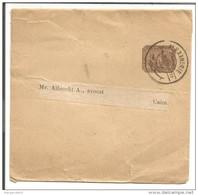 EGYPTE ENTIER BANDE JOURNAL D'ALEXANDRIE DU 24/11/1898 - Egipto