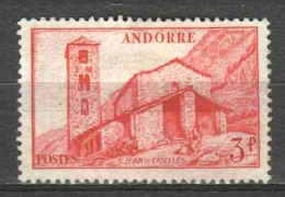 Andorra French 1951 Mi 110 MH