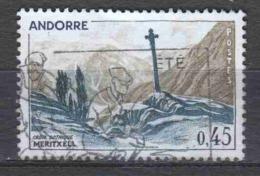 Andorra French 1961 Mi 170 Cancelled