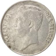 Belgique, Franc, 1912, TTB+, Argent, KM:72 - 07. 1 Franc