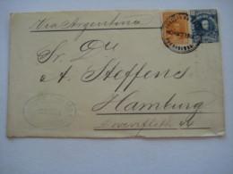 1901 , 10    C. Ganzsache  Nach Deutschland Verschickt - Bolivia