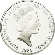 BRITISH VIRGIN ISLANDS, Elizabeth II, 20 Dollars, 1985, Franklin Mint, KM 50 - British Virgin Islands
