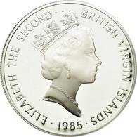 BRITISH VIRGIN ISLANDS, Elizabeth II, 20 Dollars, 1985, Franklin Mint, KM 49 - British Virgin Islands