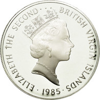 Monnaie, BRITISH VIRGIN ISLANDS, Elizabeth II, 20 Dollars, 1985, Franklin Mint - Iles Vièrges Britanniques