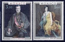 """Monaco YT 1286 & 1287 """" Tableaux Prince Et Princesse """" 1981 Neuf** - Monaco"""