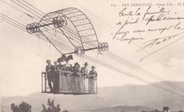 ESPAGNE.  SAN SEBASTIAN. CPA. MONTE ULIA. ANNÉE 1918 - Guipúzcoa (San Sebastián)