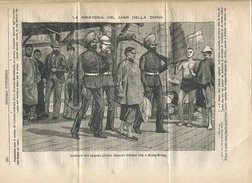 1887 Italian Magazine Famous Chinese Pirate Chang Chi Captured In HONG KONG Xianggang China - Before 1900