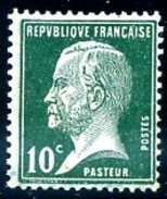 Yvet 170 Maury 170d 10 Centimes Pasteur - Unused Stamps