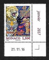 Monaco 2017 - Yv N° 3063 ** - 41 ème Festival International Du Cirque De Monte-Carlo (Mi N° 3320) - Monaco