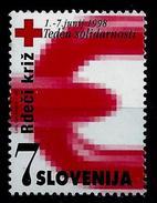 Slovenia 1998: Charity Stamp -  Solidarity Week ** MNH - Slovenia