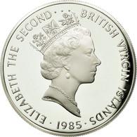 BRITISH VIRGIN ISLANDS, Elizabeth II, 20 Dollars, 1985, Franklin Mint, KM 63.2 - British Virgin Islands