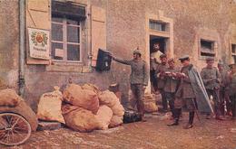 POSTAL FOTOGRAFICA-SERVICIO DE CORREOS EN LA GUERRA - Guerra 1914-18