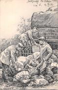 POSTAL FOTOGRAFICA-SERVICIO DE CORREOS EN LA GUERRA - War 1914-18