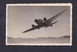 Carte Photo Indochine Aviation Avion Armée De L' Air Française à Identifier Au Dessus D' Iles - 1946-....: Moderne