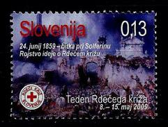 Slovenia 2009: Charity Stamp - Red Cross  Week ** MNH - Slovenia