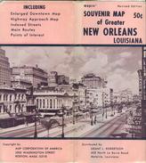 USA - New Orleans Louisiana - Souvenir Map 78cm X 112cm - Stadtplan - Landkarten