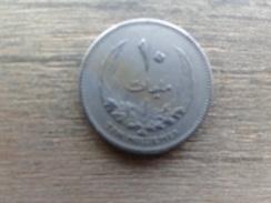 Libye  10  Milliemes  1965  Km 8 - Libye