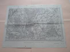 BEAUNE S.E.( 125 ) Type 1889 Revisée En 1913 Tirage De 1941 ( Formaat 34 X 44 Cm. ) Zie Foto´s ! - Europa