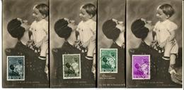 Koningin Astrid é Boudewijn - 447,448-449-450 - 1934-1951
