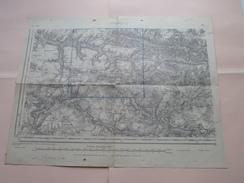 SOISSONS S.O. ( 33 ) Type 1889 Revisée En 1928 Tirage De 1941 ( Formaat 34 X 44 Cm. ) Zie Foto´s ! - Europe