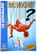 MAGAZINE LE LOMBARD COMMUNICATION 1998 - Couv RIC HOCHET TIBET - Altri
