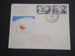 FRANCE / ALGÉRIE - Enveloppe 1 Er Jour Croix Rouge En 1954 , Henri Dunant - A Voir - L 5983 - Algérie (1924-1962)
