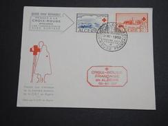 FRANCE / ALGÉRIE - Enveloppe 1 Er Jour Croix Rouge En 1952  - A Voir - L 5984 - Algeria (1924-1962)