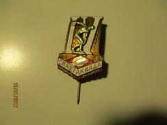 RUSSIA USSR SPARTAK SPARTACIADE  DISC WONDERFUL BIG OLD  PIN ,  BADGE , O - Pin