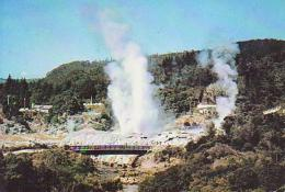 Nouvelle  Zélande        H5         Geysers , Whakarewarwa , ROTORUA - New Zealand
