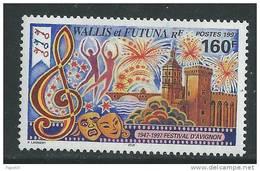 Wallis Et Futuna N° 507 XX  Cinquantenaire Du Festval D´Avignon Sans Charnière TB