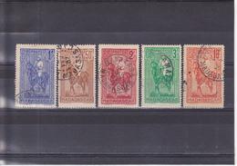 Madagascar N° 183 à 187 Timbres Oblitérés - Madagascar (1889-1960)
