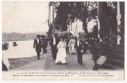 Mechelen: Le Prince Et La Princesse Albert De Belgique. - Malines