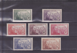 Madagascar N° 199 à 205 Timbres Neufs Avec Charnière - Madagaskar (1889-1960)